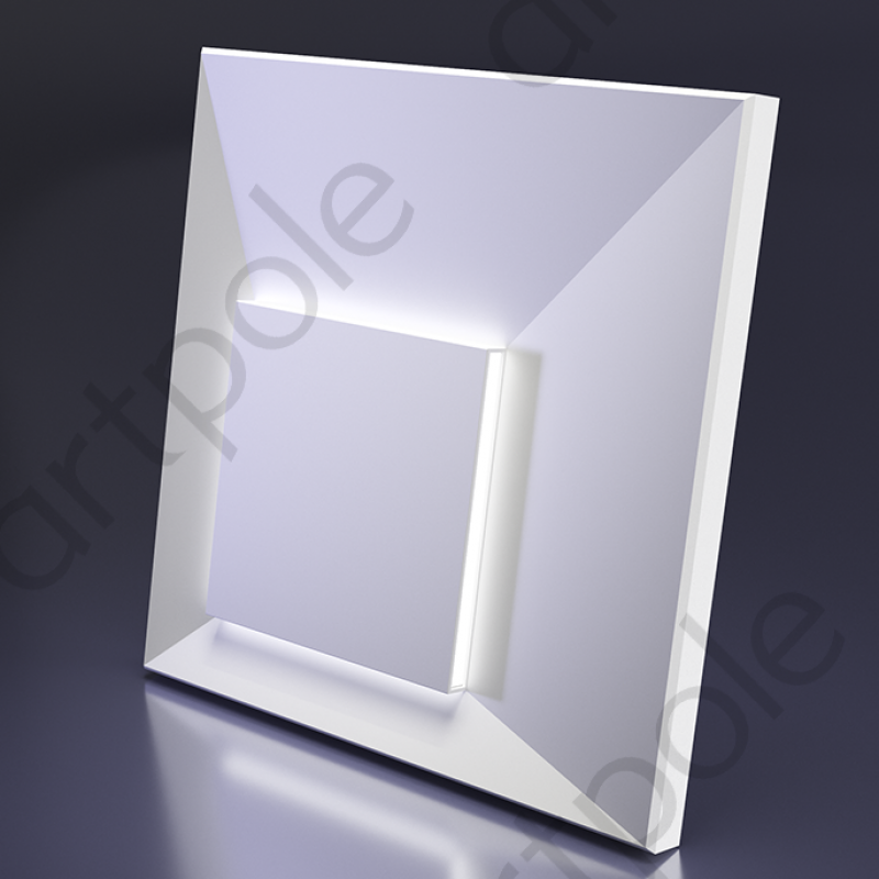 Гипсовые 3D панели MALEVICH и MALEVICH LED platinum