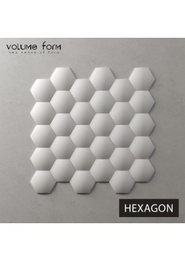 3D панели Hexagon Basic