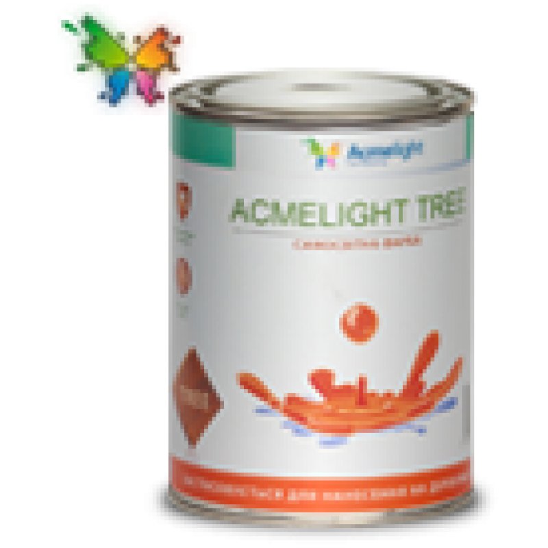 Светящаяся краска Acmelight-fluor TREE 1,0л